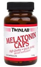 Melatonin Caps 3 mg Twinlab (60 кап)