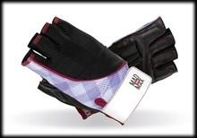 Перчатки для фитнеса женские Mad Max Nine-Eleven (арт MFG-911-pep)