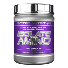 Sci Tech Isolate Amino (250 caps)