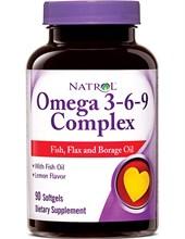 Natrol omega 3-6-9 (60 soft)
