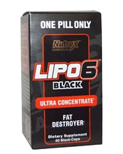 Lipo-6 Black Ultra Concentrate 60 капс (Nutrex)