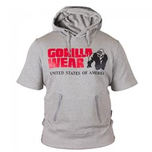 "GW Футболка с капюшоном серая  ""Boston"""