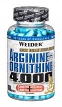 Weider Arginine + Ornithine 4000  (180 caps )