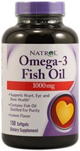Omega-3 Fish Oil Natrol (60soft)