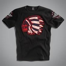 Футболка Indian T-Shirt UNCS (черная )