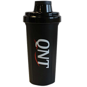 QNT  shaker bottle (700 ml) черный