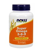 NOW Super Omega 3-6-9 1200 mg (90cap)