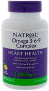 Natrol Omega 3-6-9 1200 mg (90 soft)