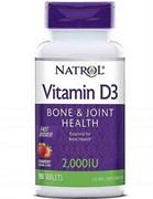 Natrol Vitamin D3 2.000 (90tab)