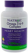 Natrol Omega 3-6-9 1200 mg (60 soft)