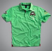 Футболка-поло мужская зеленая UNCS (Airforce Polo)