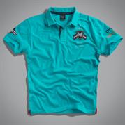 Футболка-поло мужская синяя  UNCS (Airforce Polo)