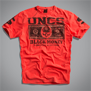 Футболка мужская оранжевая (Money T-Shirt  ) UNCS