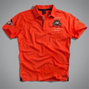Футболка-поло мужская оранжевая UNCS (Airforce Polo)