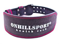 ONHILLSPORT Пояс атлетический 60/150, пряжка, 2х-слойный