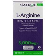 Natrol L-Arginine 3000 mg (90 tab)