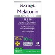 Natrol Melatonin Advaced Sleep 10 mg (100 tab)